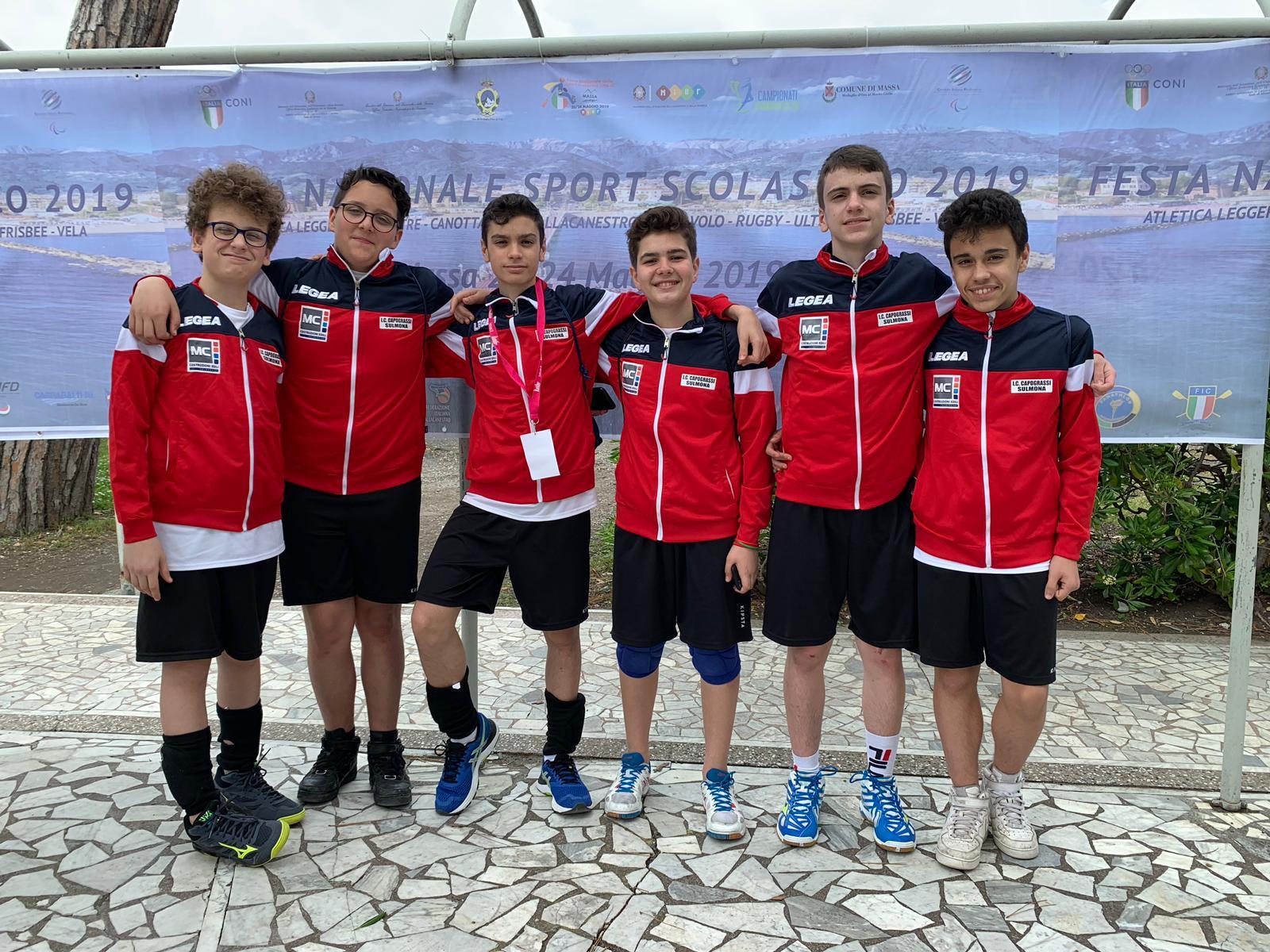 Campionati Sportivi Studenteschi 2019
