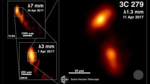 il getto relativistico del quasar precedente