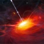 Il quasar 3C 279 che fuoriesce dal suo temibile buco nero